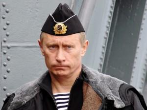 Putin in uniforme