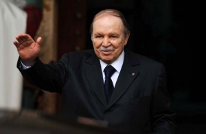Il Presidente algerino Bouteflika