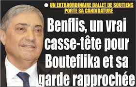 Benflis, oppositore di Bouteflika