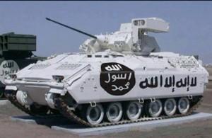 Un Tank di ISIS
