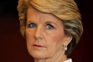 Julie Bishop. Ministro degli esteri dell'Australia