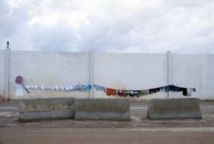 Il Muro al confine con la Siria