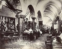 Il Gran Bazar di Istanbul nell'Ottocento