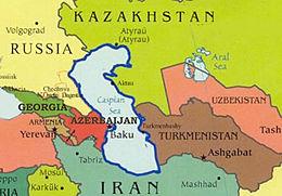 Il Caspio e i Paesi rivieraschi