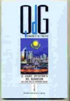 IL volume 'Le grandi ' opportunità del Kazakhstan', Quaderni della rivista Geopolitica, vol.IV, 2015