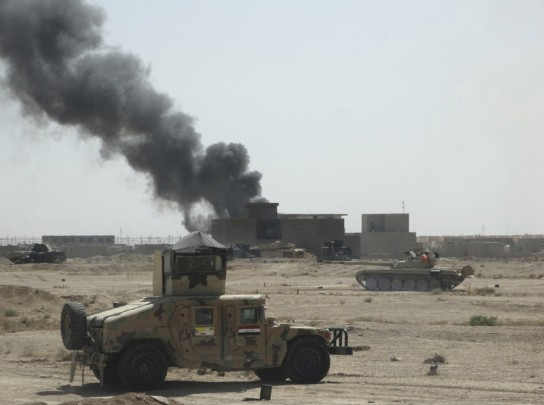 Combattimenti a Ramadi (Photo credit: Reuters)