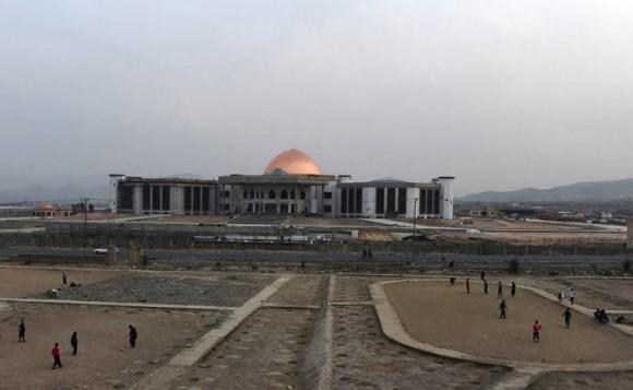 Il parlamento di Kabul