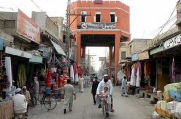 Il Bazaar di Miran Shah nel Waziristan