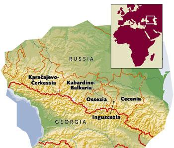 Il Caucaso del Nord