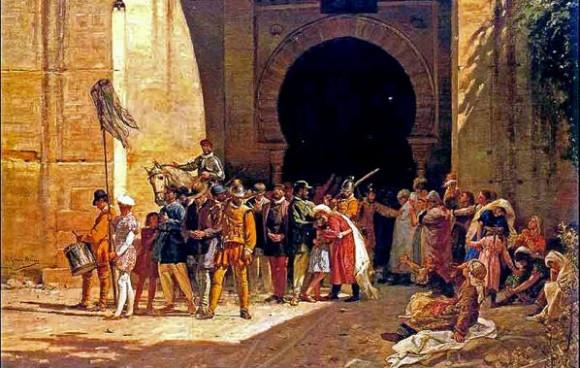 L'espulsione dei 'Mori' dalle città spagnole dopo la '.'Reconquista