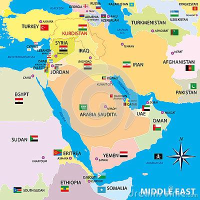 Il Medio Oriente....attuale....