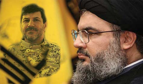 Sayed Hassan Nasrallah alla cerimonia di ricordo del leader delle Resistenza Hassan Lakkis.