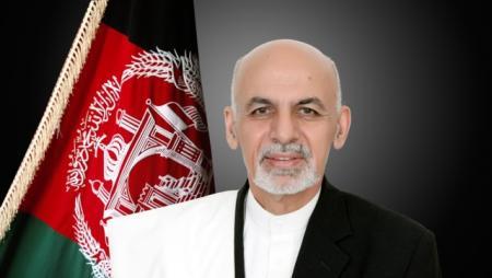 Il Presidente dell'Afghanistan Ashraf Ghani Ahmadzai