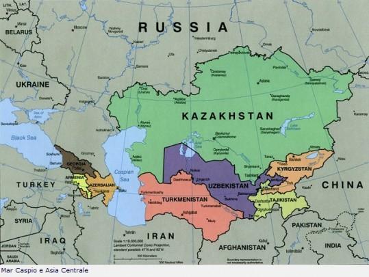 La regione del Caspio