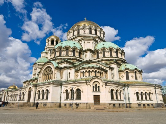 Alexander Nevski Church in Sofia, Bulgaria