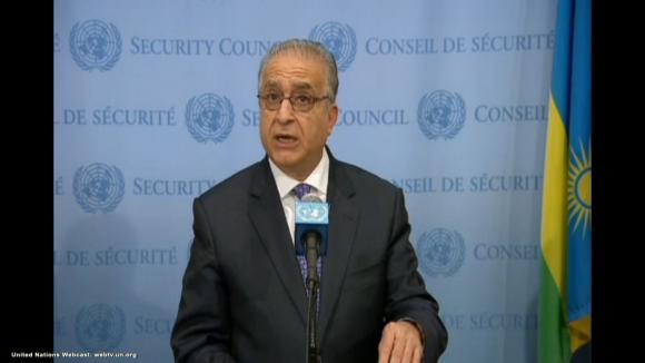 L'ambasciatore dell'Iraq presso le Nazioni Unite, Mohamed-ali-alhakim