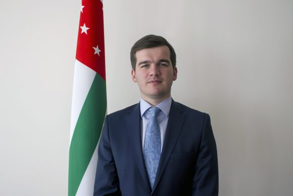 Il Vice Ministro degli Esteri dell'Abcasia, Taniya