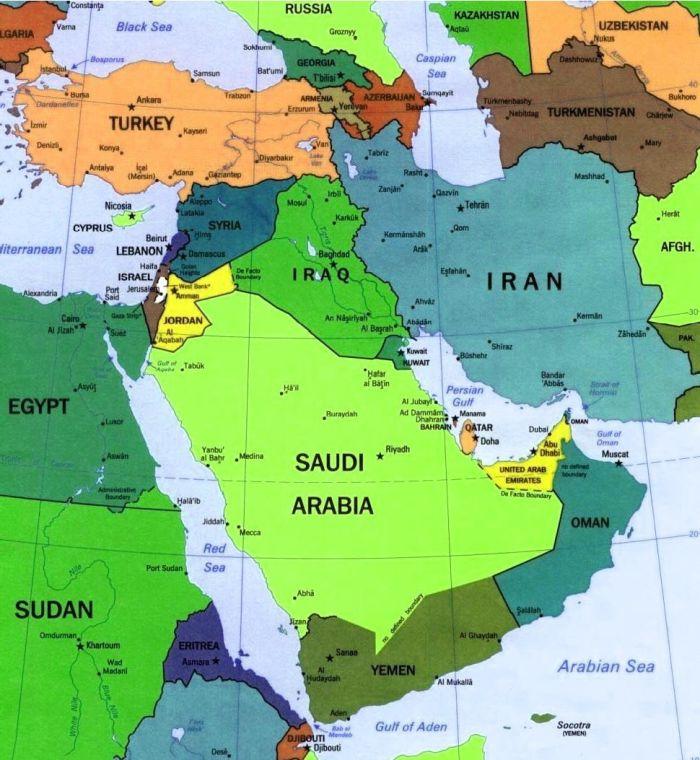 L'analisi geopolitica si fa sulle mappe....