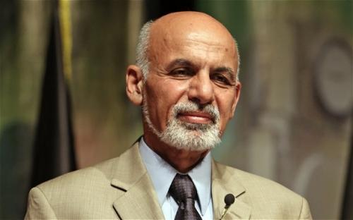 Il presidente dell'Afghanistan Ashraf Ghani