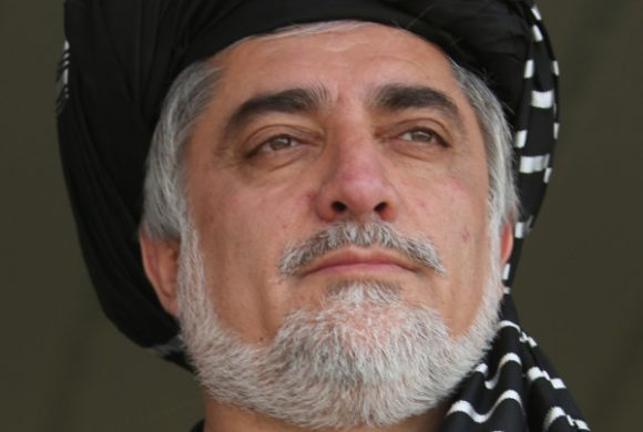 Abdullah Abdullah, il rivale di Ashraf (AP Photo/Massoud Hossaini)