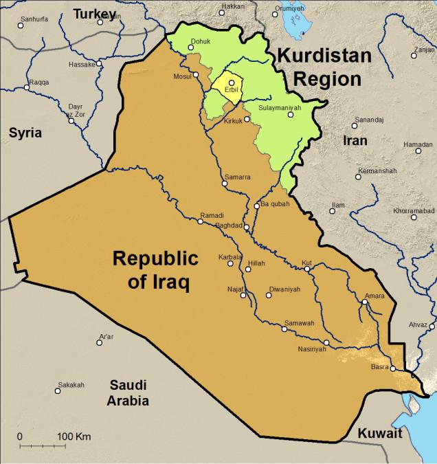 La regione del Kurdistan iracheno
