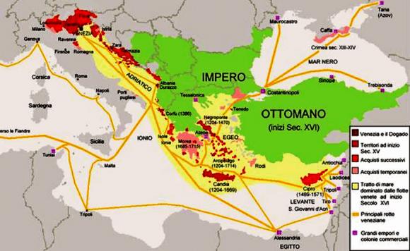 L'Impero Ottomano agli inizi del secolo XVI