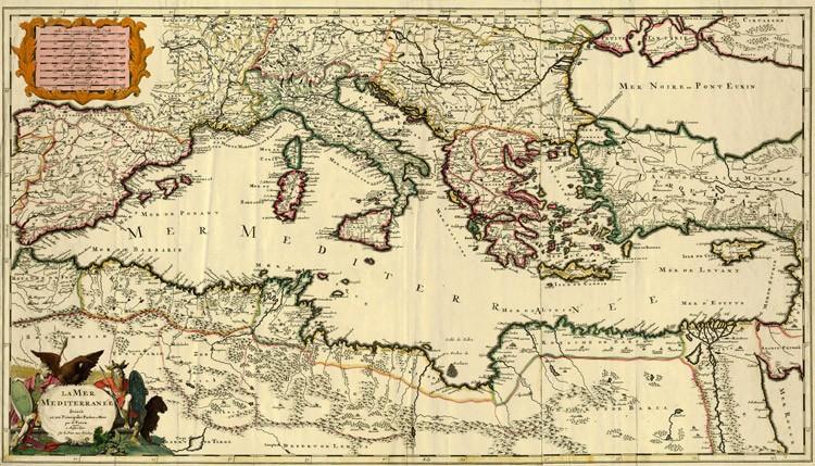 Mare Mediterraneo Cartina.Mediterraneo E Conflittualita Endemiche 1 Osservatorio Analitico