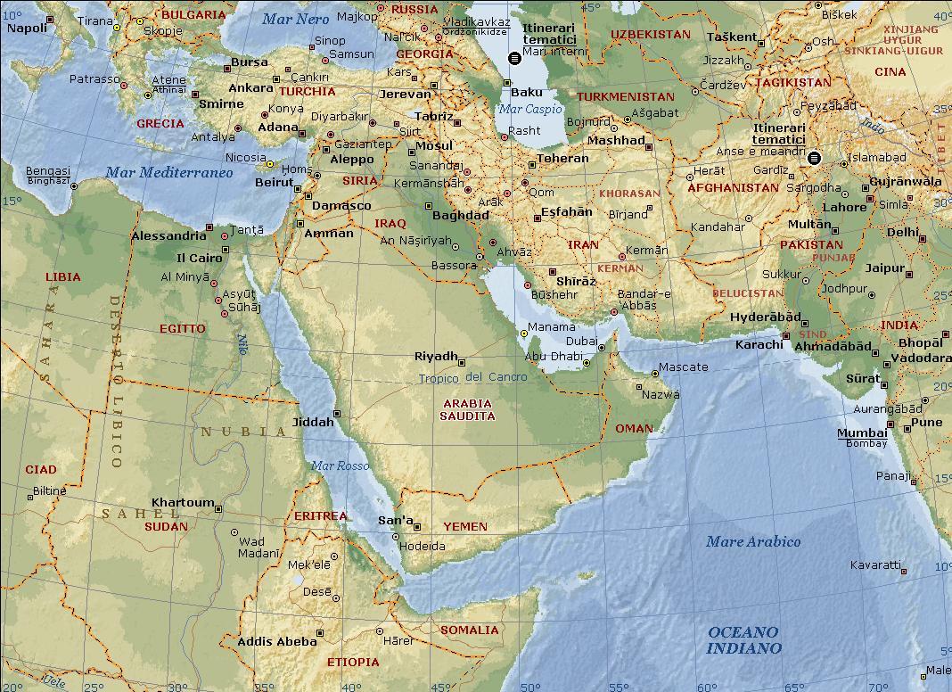 mappa medio oriente fisica La teoria USA del caos costruttivo….al momento  ... 0bba51a3dac0