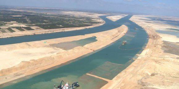 Il raddoppio del Canale di Suez recentemente inaugurato