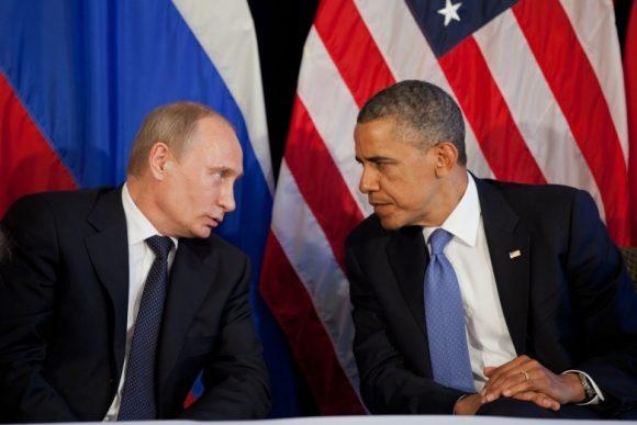 Putin e Obama...ancora per pochi giorni.