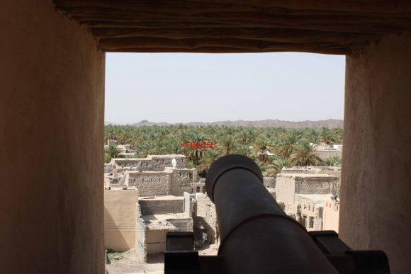Uno dei cannoni del Forte di Nizwa (Ph: ©firuzeh)