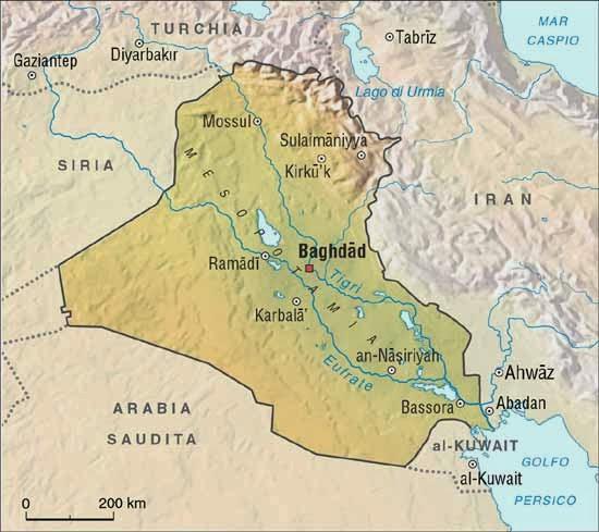 iraq-cartina