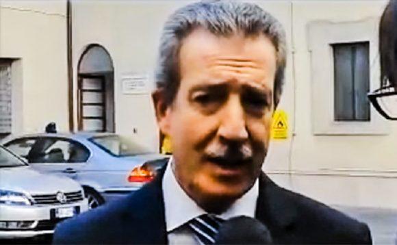 Il generale Mario Parente, Direttore dell'Agenzia per la Sicurezza Interna (AISI)