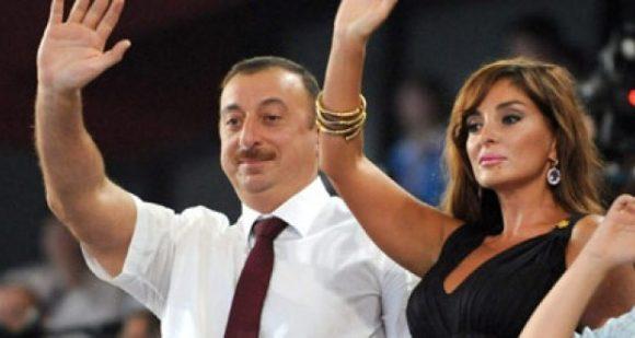 Ilham-Aliev, Presidente dell'Azerbaijan con la moglie