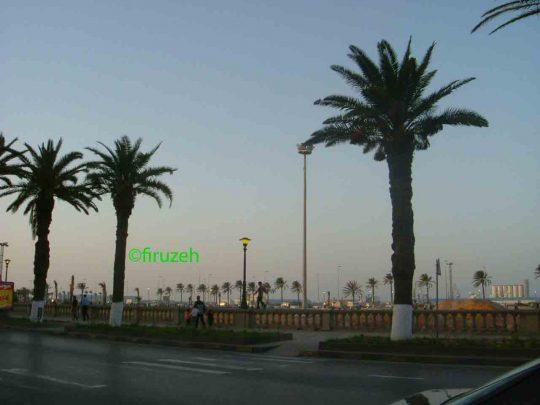 Il lungomare di Tripoli ai tempi di Gheddafi (photo©firuzeh)