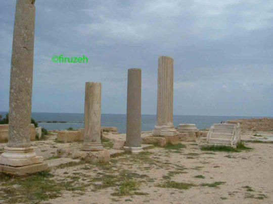 La presenza di Roma in Libia, Leptis Magna. (photo©firuzeh)
