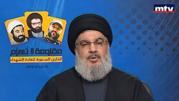 Hassan-Nasrallah, a capo del movimento Hezb'Allah