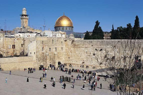 La Spianata delle moschee a Gerusalemme