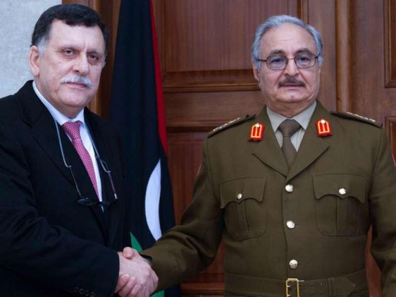 Sarraj e Haftar...si metteranno mai d'accordo'