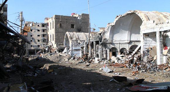 Rovine della guerra on Siria