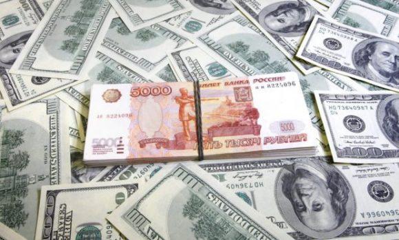 Dollaro e rublo