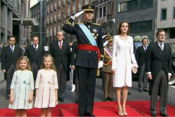 La Famiglia Reale di Spagna