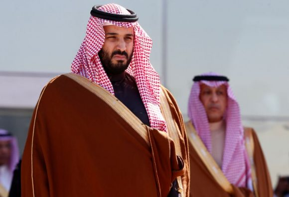 Il principe ereditario dell'Arabia Saudita Mohammed bin Salman