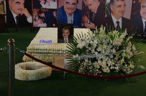 Il Mausoleo di Rafik Hariri e degli uomini morti con lui nell'attentato a Beirut (©firuzeh)