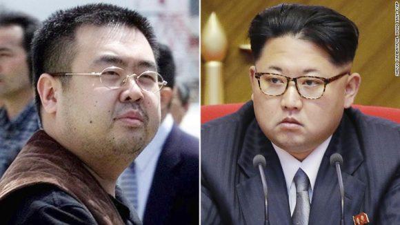 I due fratelli: Kim Jong Nam a sinistra