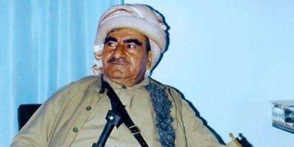 Mustafa Barzani, padre di Massud.