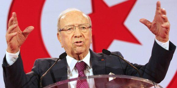 Beji-Caid-Essebsi, Presidente della Tunisia