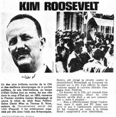 Una rara foto di Kermit (Kim) Roosevelt