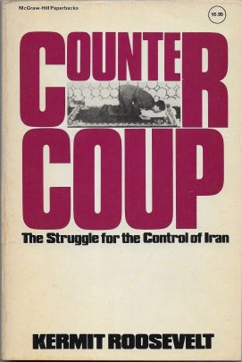 La copertina del libro di Kim Roosevelt