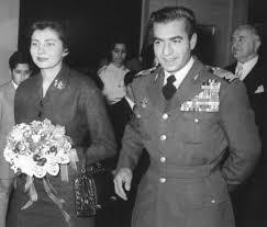 Lo Shah e Soraya nel 1953 quando dovettero fuggire dall'Iran